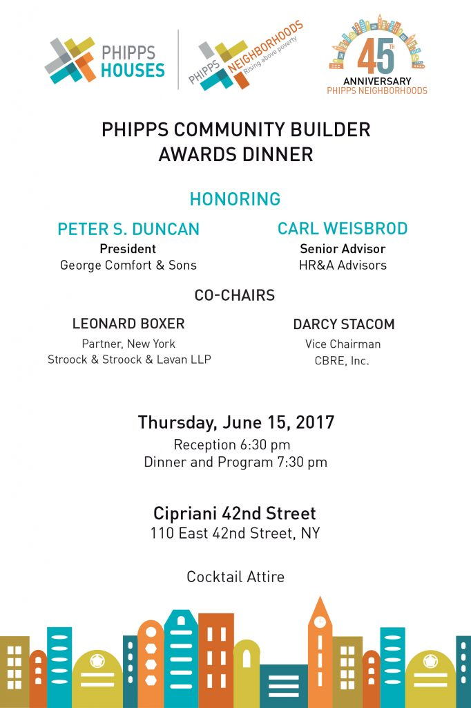 2017 Phipps Community Builder Awards Dinner INVITATION FINALINVITATION page 2-